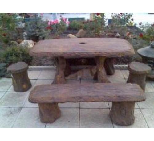 Комплект стола под дерево