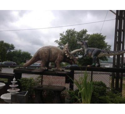 Динозавры (Triceratops)
